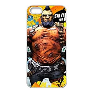 Borderlands 2 iPhone 5 5s Cell Phone Case White custom made pgy007-9977412