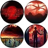 stranger things season 2 set 1 Buttons Badges/Pin 1.25 Inch (32mm)