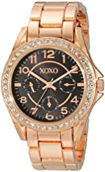 XOXO Women's XO176 Analog Display Analog Quartz Rose Gold Watch