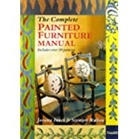 The Complete Painted Furniture Manual (English and Spanish Edition)