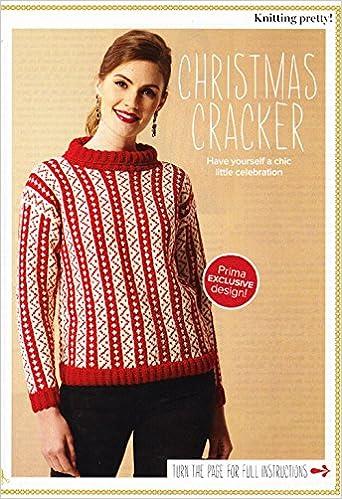 Prima Knitting Pattern Sweater Sizes 81 86 92 97 102 107cm