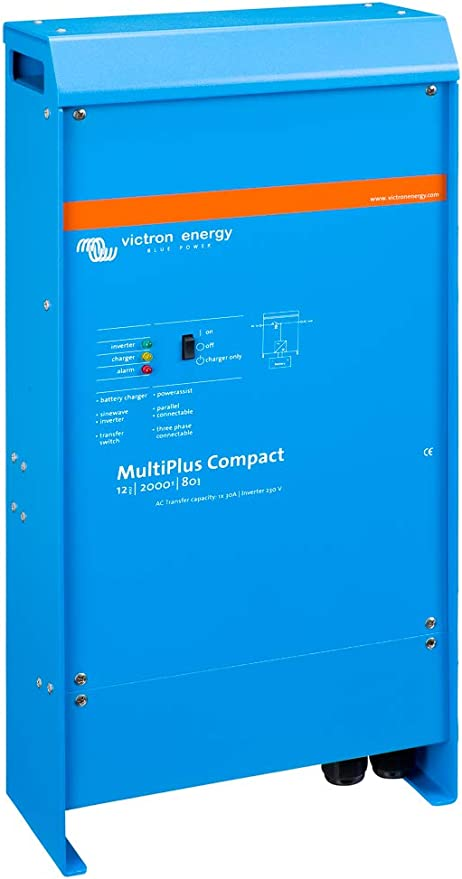 Victron MultiPlus Compact 12/2000/80-50 120V VE.Bus Inverter Charger: Amazon.ca: Electronics