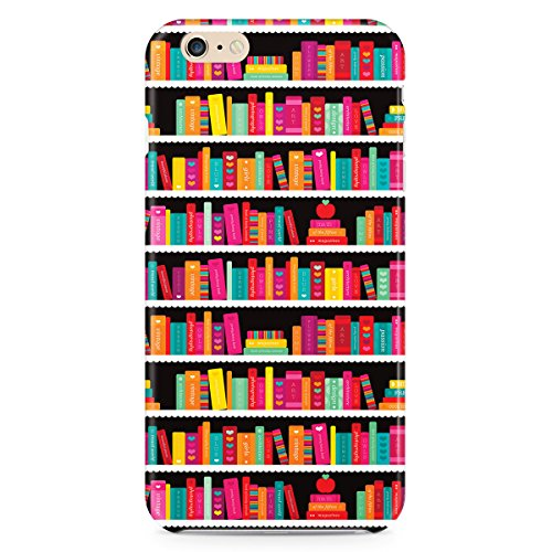 Phone Case For Apple iPhone 6 - Library Book Case - Lightweight Wrap-Around
