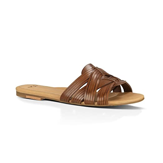 Womens Sandals UGG Chanez Natural Leather