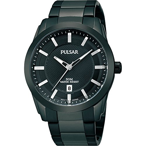 Pulsar PH9017 Mens Black Ion Essentials Collection Watch