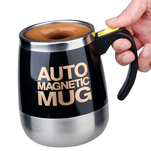 Alinshi Auto Magnetic Mug - Electric Self Stirring Coffee /