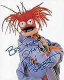 Pepé the King Prawn Muppet Bill Barretta Original Autographed 8X10 Photo