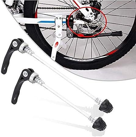 Bicycle MTB Bike Spindles Wheel Quick Release Skewers Anti Theft Skewer Set