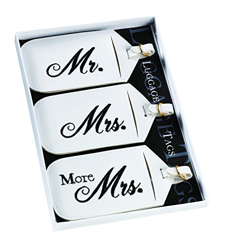 Matching Shoes For Couples (Lillian Rose 3 Mr. Mrs. More Matching Couple Luggage Tags)