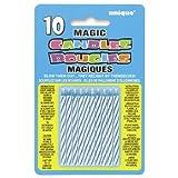 Magic Candle Blue 10 Pack