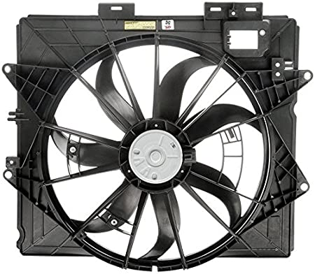 amazon dual radiator and condenser fan assembly cooling Cadillac Wallpaper HD amazon dual radiator and condenser fan assembly cooling direct for fit gm3115253 09 13 cadillac cts sedan 10 15 cts coupe wagon 09 11 srx sts without