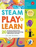 Preschoolers will love tackling these 20fun, easy-to-follow step-by-step projects as they learn about STEAM topics (science, technology, engineering, arts, and math). Topicsincludesymmetry and how light bounces to create reflections...
