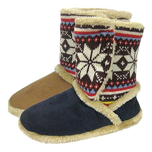 Coolers - Zapatillas de estar por casa de Material Sintético para mujer Azul