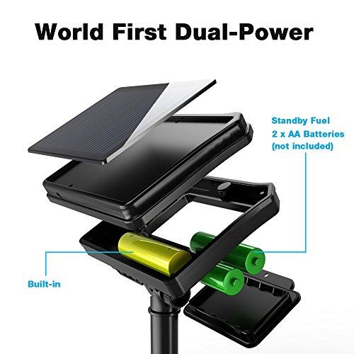 Solar String Lights Battery : Qedertek Solar & Battery String Lights, 72ft 200 LED Dual - Import It All