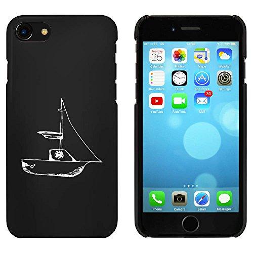 Noir 'Bateau à Voile' étui / housse pour iPhone 7 (MC00071441)