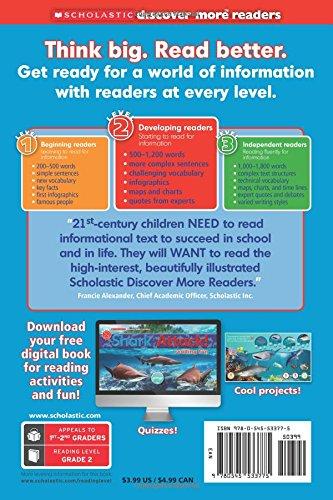 Scholastic Discover More Reader Level 2: Shark Attack!
