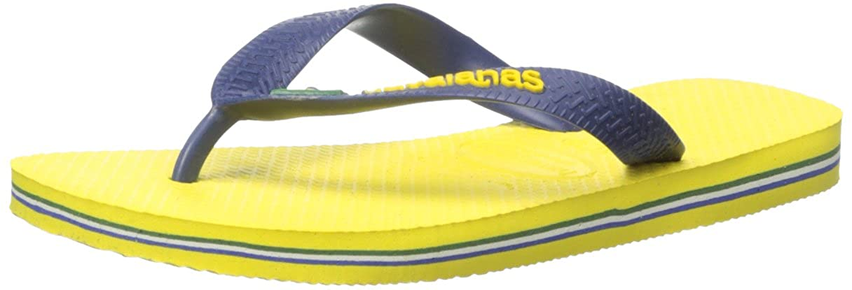 Havaianas Kids Brazil Logo Sandal Flip Flops (Toddler/Little Kid) 4110850