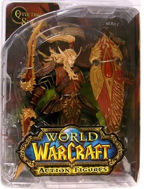 World of Warcraft Series 3 Blood Elf Paladin Action Figure