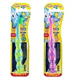 Piksters Suction Childrens Toothbrush 3-10 Years (Color May Vary) X1 Brush