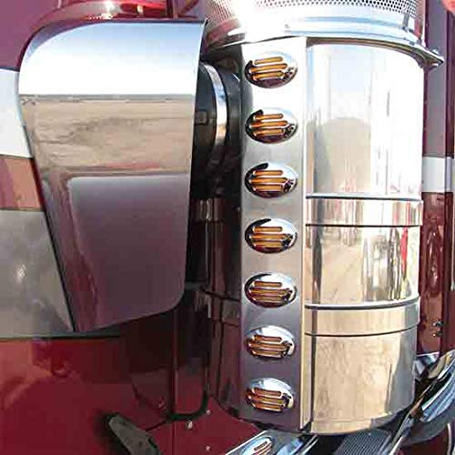 Stainless Steel Air Cleaner Hose Guard Fits Kenworth, used for sale  Delivered anywhere in USA