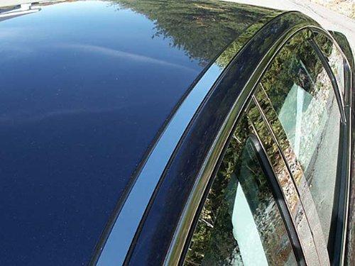[FIVE HUNDRED 2005-2007 FORD (2 Pc: Stainless Steel Roof Insert Trim, 4-door) RI45490:QAA] (Roof Insert Trim)