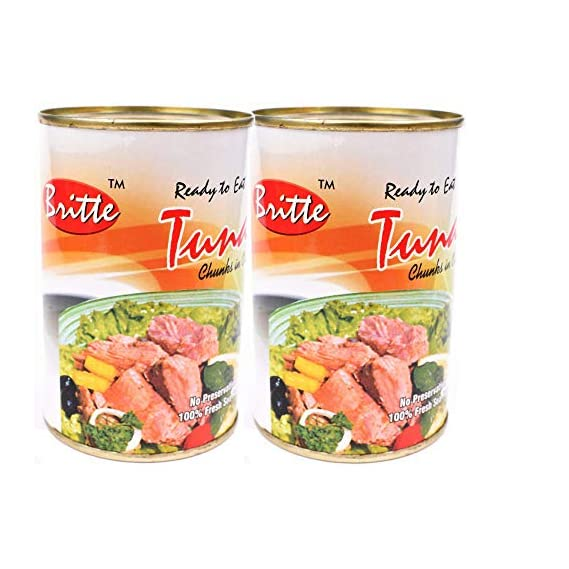 Britte Tuna Chunks in Oil 450 GMS + 450 GMS