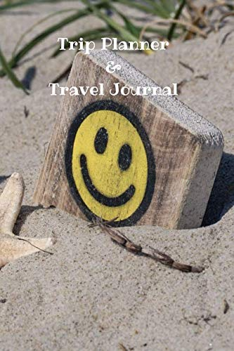 Trip Planner & Travel Journal: Vacation Planner with Checklist, Travel Goal, Daily Plan, Daily...