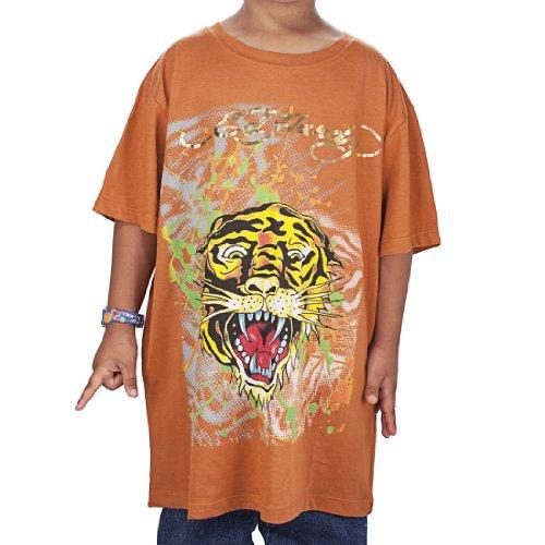 Ed Hardy Kids Boys Tiger T-Shirt - Tan - X-Large