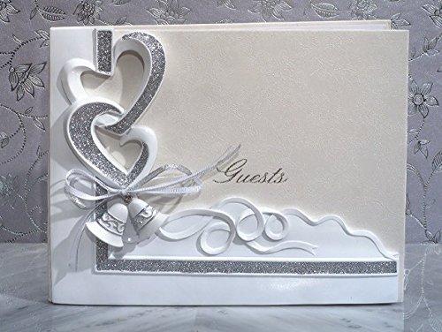 Wedding Bells Guest Book by Cassiani