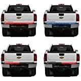 "Danti Waterproof 60"" Red/white Tailgate LED Strip Light Bar Truck Reverse Brake Turn Signal Tail for chevrolet chevy Avalanche Silverado Cadillac EXT 2001-2015"