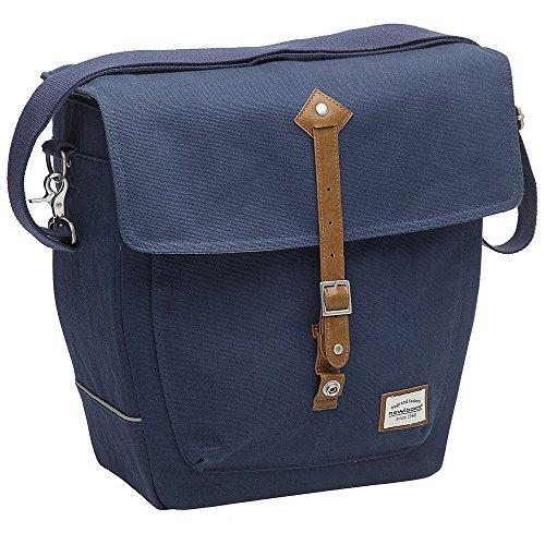 NEW LOOXS Genova Canvas borsa, impermeabile, Blu, 14L