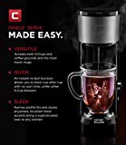 Chefman Coffee Maker K-Cup VersaBrew Brewer with included BONUS TRAVEL MUG and FREE FILTER For Use With Coffee Grounds - Rapid Boil - Single Serve