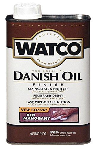 Rust-Oleum 214380 Watco Danish Oil, Red Mahogany ()