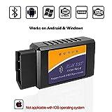 ELM327 OBD2 Bluetooth Scanner Car Code Reader Reset Diagnostic Scan Tool OBDII Adapter