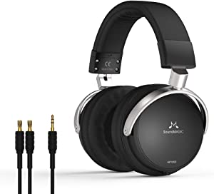 SoundMAGIC HP1000 Noise Cancelling Headphones Over-Ear Headphones HiFi Professional Studio Headset Premium Full Size Closed-Back Headphones