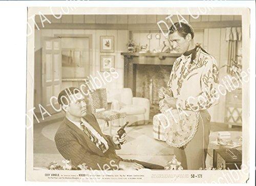 MOVIE PHOTO: HOEDOWN-8X10 STILL-1950-JOCK MAHONEY-WESTERN-EDDY ARNOLD