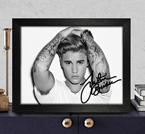 Justin Bieber Signed Autographed Photo 8X10 Reprint Rp Pp - Purpose