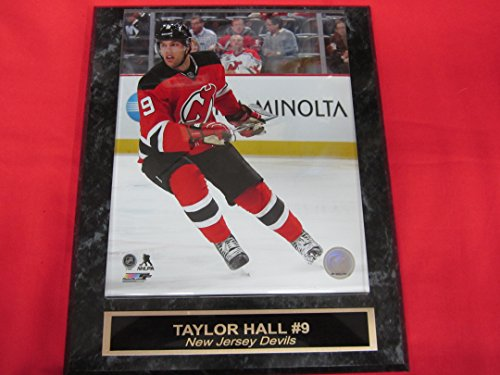 Taylor Hall New Jersey Devils Engraved Collector Plaque w/8x10 Photo - Devils Plaque Jersey New