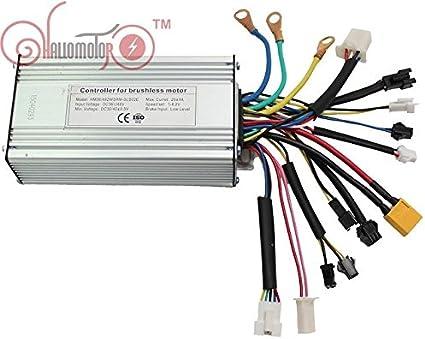 Hallomotor  Ebike 36V//48V 500W Brushless DC Square Wave Controller+LCD Throttle