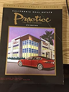 california real estate principles 15th edition pdf
