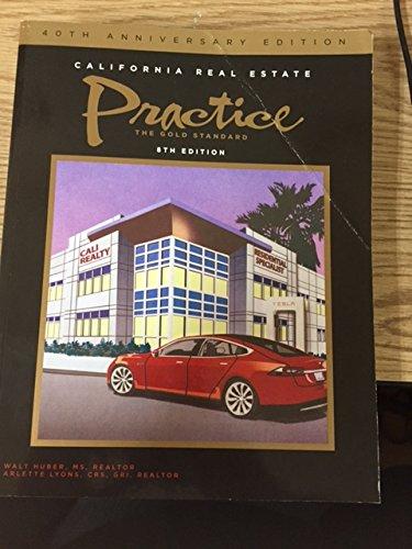 - California Real Estate Practice