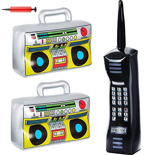 Inflatable BoomBox & Inflatable Mobile Phone Toy