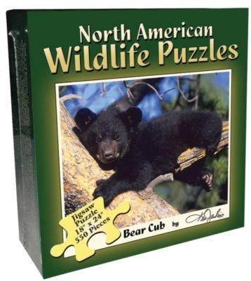 Boxed Puzzle - Bear Cub