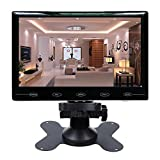CAIRUTE 7 Inch Ultra Thin 16:9 Super HD 1024*600 TFT LCD Color Car Rear View Monitor DVD VCD Headrest Monitor Support Audio Video HDMI VGA
