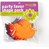 "Bloomin Seed Paper Shapes Packs - Maple Leaf Shapes - 25 Shapes Per Pack - 3x3"" {Color Mix}"