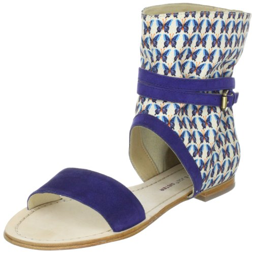 5 amp; Paul Mujer Sister Blau Canvas P bleu Sandalias De Azul Lona Armine Fashion Joe gqAqxwnR