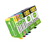 #7: OSIR 1 Set+1 Black Remanufactured Epson 252 XL Ink Cartridges High Yield, Compatible With Epson Wf-3640 Wf-7610 Wf-3620 Wf-3630 Wf-7620 Wf-7110 Wf-7710 Wf-7720 Wf-7210