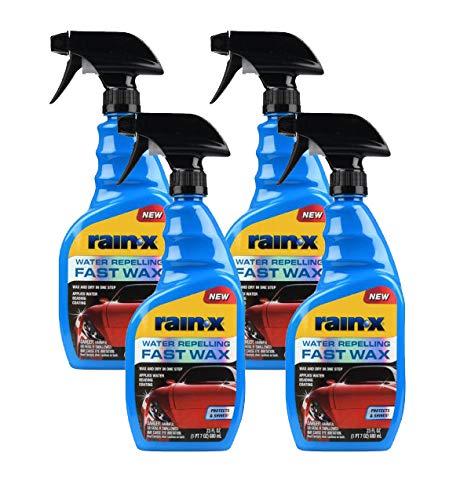 Rain-X 620118-4PK Car Wax, 92. Fluid_Ounces, 4 Pack