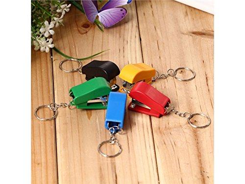 1PC creative Portable Colorblock labor-saving mini cucitrice piccole dimensioni per il regalo (colore casuale) Komener