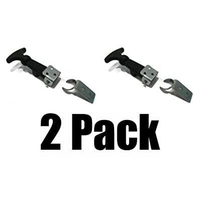 The ROP Shop (2) Hood Hold Down Latch Kits for RV Baja GHIA Bug Bus Vehicle Boat Snowmobile: Automotive
